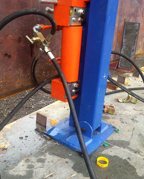 Bygging Tank Lifting Jack Amp Automatic Girth Welder Photos
